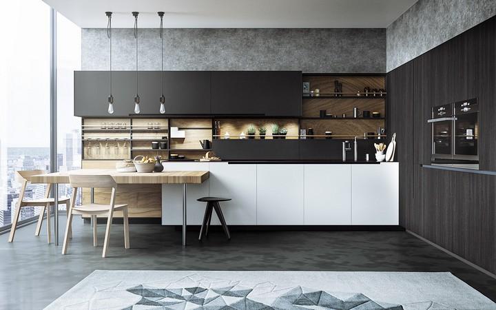 butcher-block-counter1 luxury kitchen design Tips To Improve Your Luxury Kitchen Design butcher block counter1