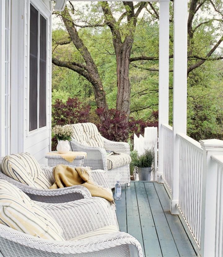 veranda-porche-devant-maison spring trend Spring Trend Alert – Amazing Porches You Must Have This Spring veranda porche devant maison