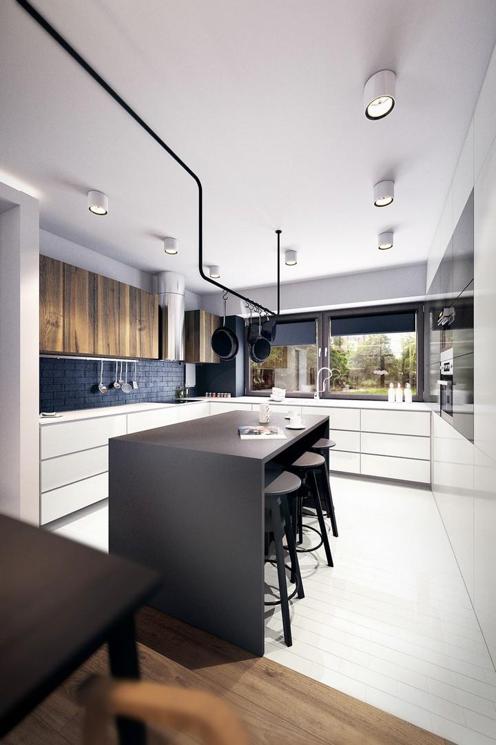 white-wood-flooring1 luxury kitchen design Tips To Improve Your Luxury Kitchen Design white wood flooring1