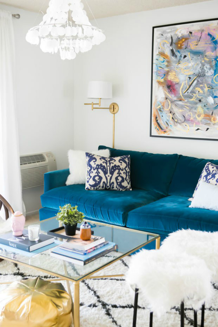 Breathtaking Blue Sofa Designs for This Summer - discover the best sofa designs for your living room #homedecorideas #homedecor  blue sofa 10 Breathtaking Blue Sofa Designs for This Summer Breathtaking Blue Sofa Designs for This Summer disover the best sofa designs for your living room homedecorideas homedecor 5