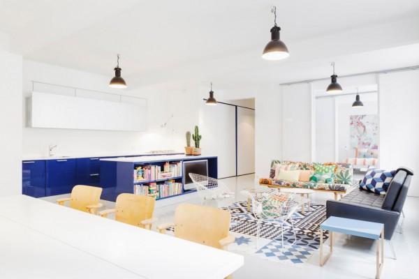 Scandinavian 25 Scandinavian Living Room Design Ideas artsy apartment living room