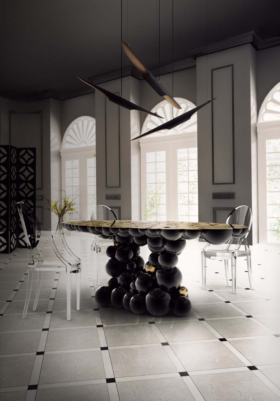 design ideas 50 Home Design Ideas For Modern Interiors boca do lobo newton