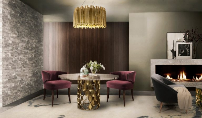 modern dining room 25 Astonishing Modern Dining Rooms For The Holiday Season brabbu ambience press 61 HR 768x452