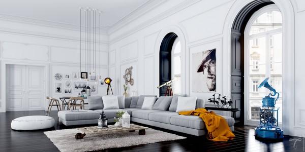 Scandinavian 25 Scandinavian Living Room Design Ideas cool classic window design 600x300