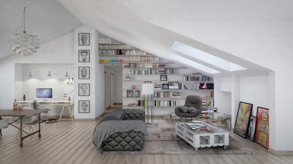 Scandinavian 25 Scandinavian Living Room Design Ideas tufted sofa 600x337