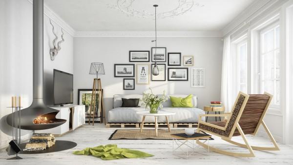 Scandinavian Scandinavian 25 Scandinavian Living Room Design Ideas white washed floors 600x338