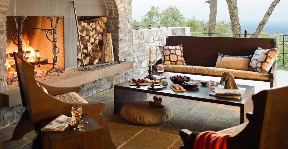 fireplace fireplace Summer Trends: 30 Striking Outdoor Fireplaces y tuong cho khong gian thu gian ngoai troi ngay thu 6cb54b1497