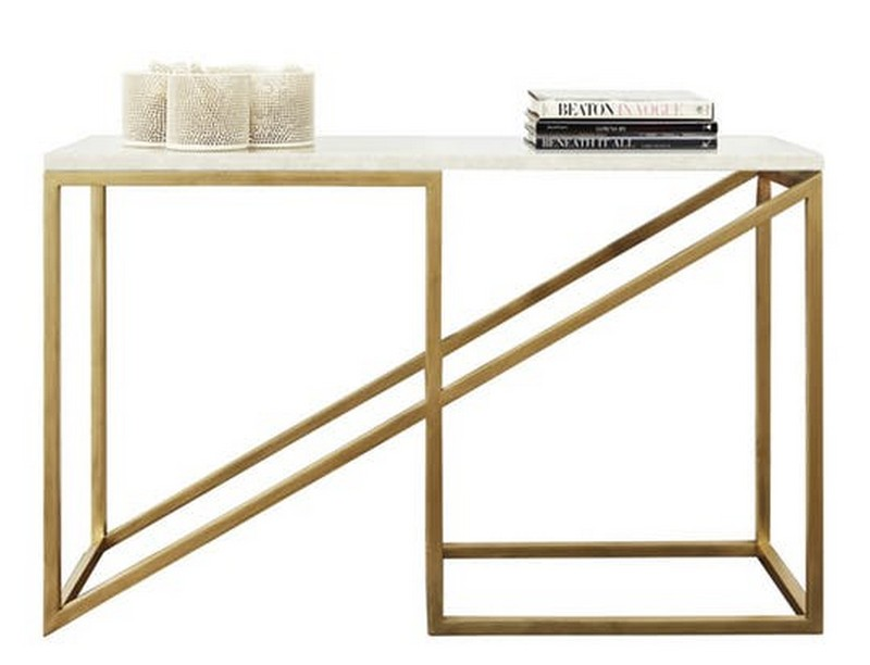 best console tables Discover the Best Console Tables for your Entryway 12 The Zoid Console by Meier Ferrer