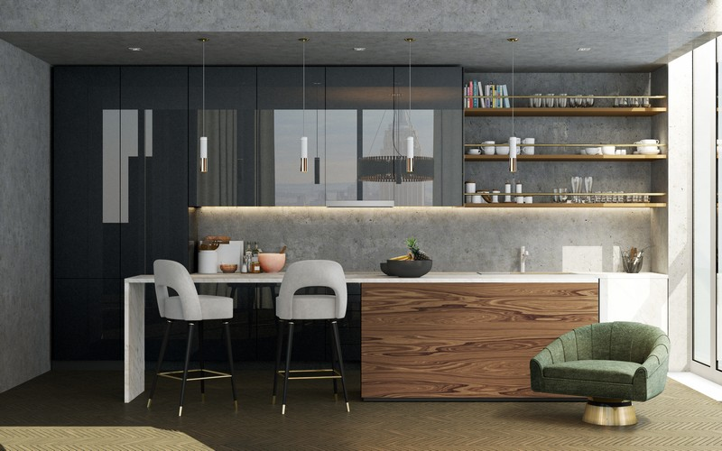 Home Kitchen  home kitchen designs 15 Amazing Home Kitchen Designs EH Kitchen 2