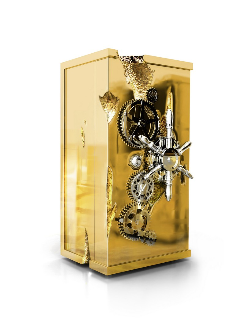 Gold Rush and Millionaire Luxury Safe  Gold Rush and Millionaire Luxury Safe The Gold Rush and Millionaire Luxury Safe by Boca do Lobo millionaire 01