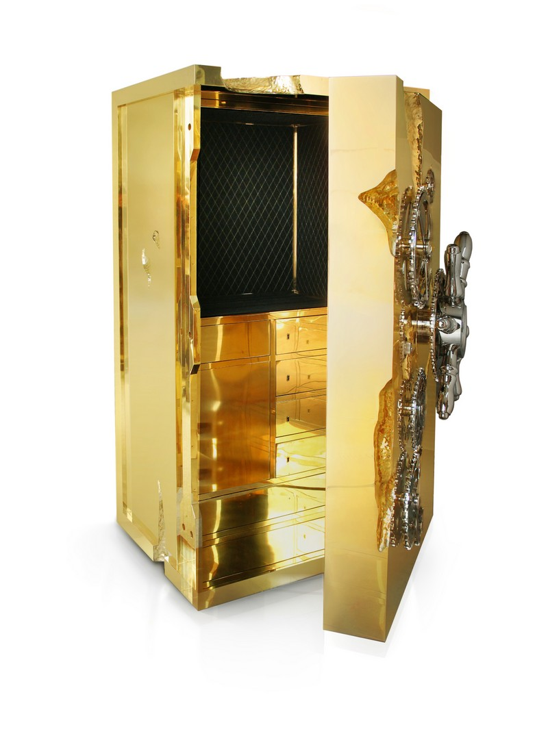 Gold Rush and Millionaire Luxury Safe  Gold Rush and Millionaire Luxury Safe The Gold Rush and Millionaire Luxury Safe by Boca do Lobo millionaire 04