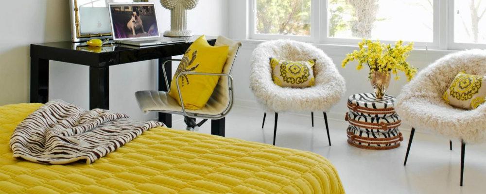 master bedroom design ideas Shades of sunshine: Yellow master bedroom design ideas 000 12
