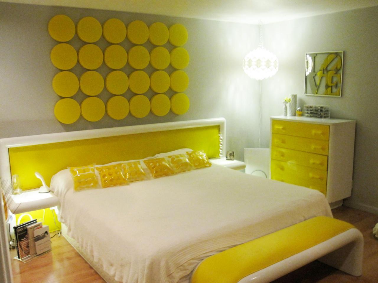 Shades of sunshine: Yellow master bedroom design ideas  Home