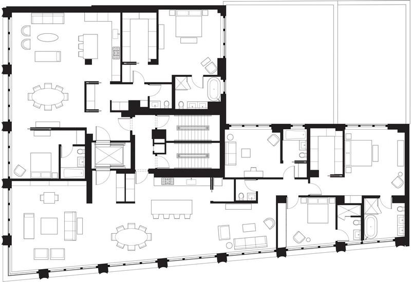Selldorf Architects The 10 Bond Street Building designed by Selldorf Architects 17 Bond Street Plan Final Version
