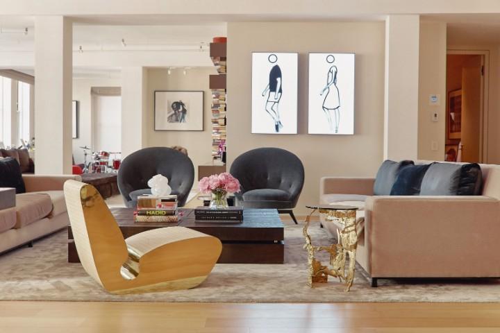The Luxury Apartment of Fashion Designer Sylvie Millstein's | www.bocadolobo.com #homedecor #homedecorideas #luxuryapartment #luxury #luxurybrands #interiordesign #exclusivedesign #designtrends #decorations @homedecorideas