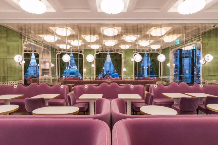 India Mahdavi's Luxury French Bakery Has A Fantastic Decoration