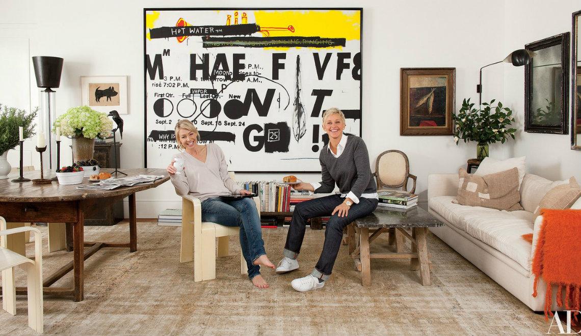 ellen degeneres and portia de rossi The Rustic Beverly Hills Home of Ellen DeGeneres and Portia De Rossi 000 17
