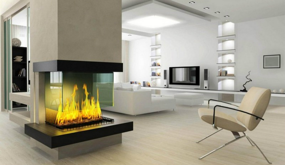 Fireplace ideas The Most Amazing Fireplace Ideas For A Modern Interior 0000 2