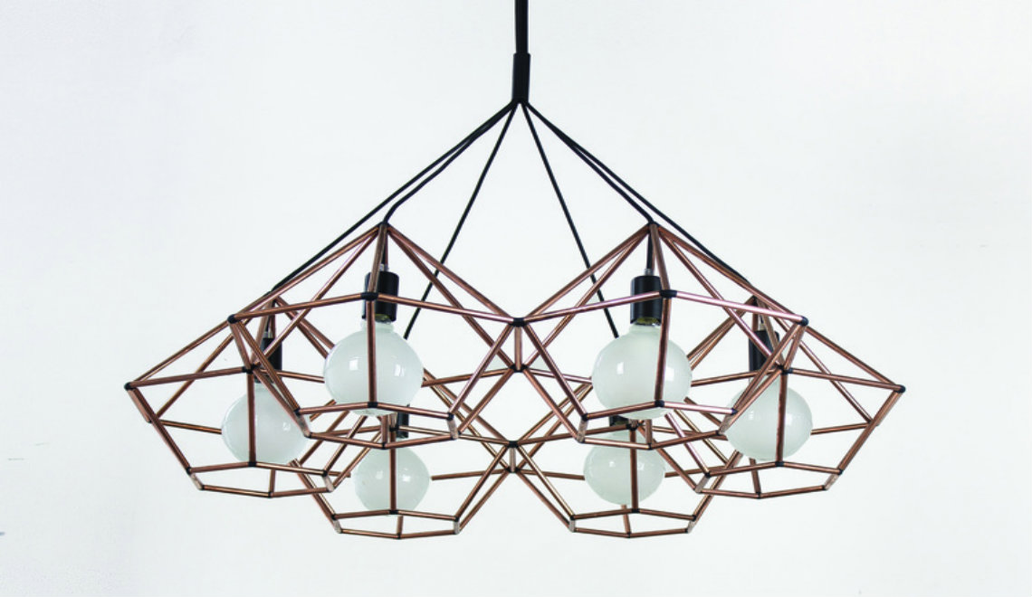 The Beautiful Rough Diamond Chandelier by Ben Tovim Design