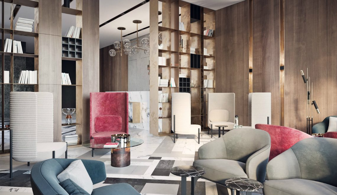 Interior Design The Beautiful Interior Design of a Modern Lobby in Moscow featured 1140x660