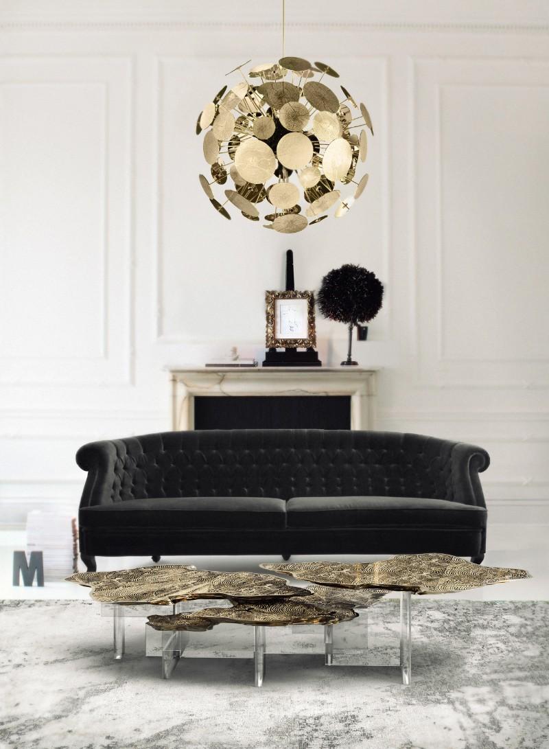 interior design ideas 10 Interior Design Ideas For Your Contemporary Home monet acrylic base center