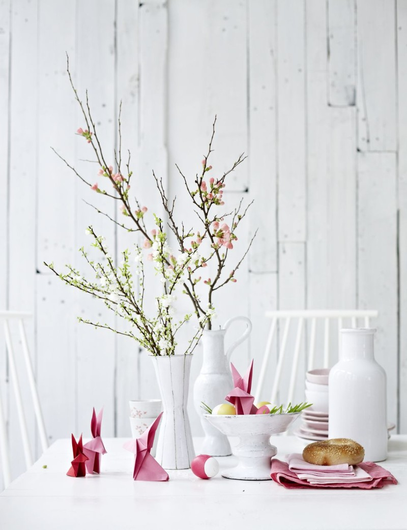 easter decoration 10 Easter Decoration Ideas For Your Dining Table Easter Decoration Ideas For Your Dining Table 11