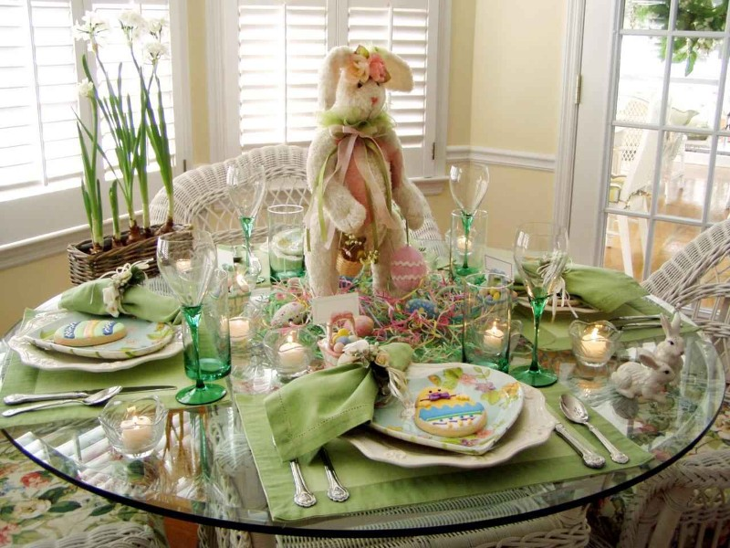 easter decoration 10 Easter Decoration Ideas For Your Dining Table Easter Decoration Ideas For Your Dining Table 3