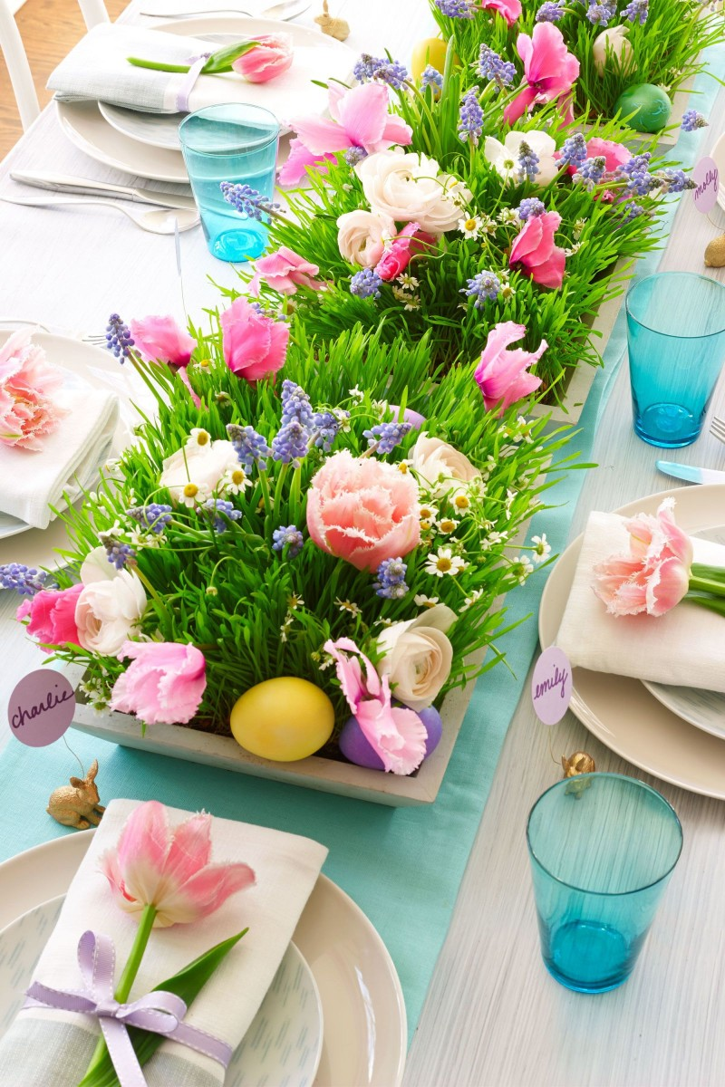easter decoration 10 Easter Decoration Ideas For Your Dining Table Easter Decoration Ideas For Your Dining Table 8