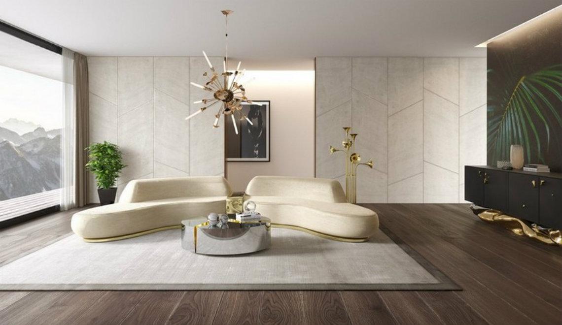 contemporary sofa 10 Contemporary Sofas For A Luxury Living Room Odette Sofa by Boca do lobo 1