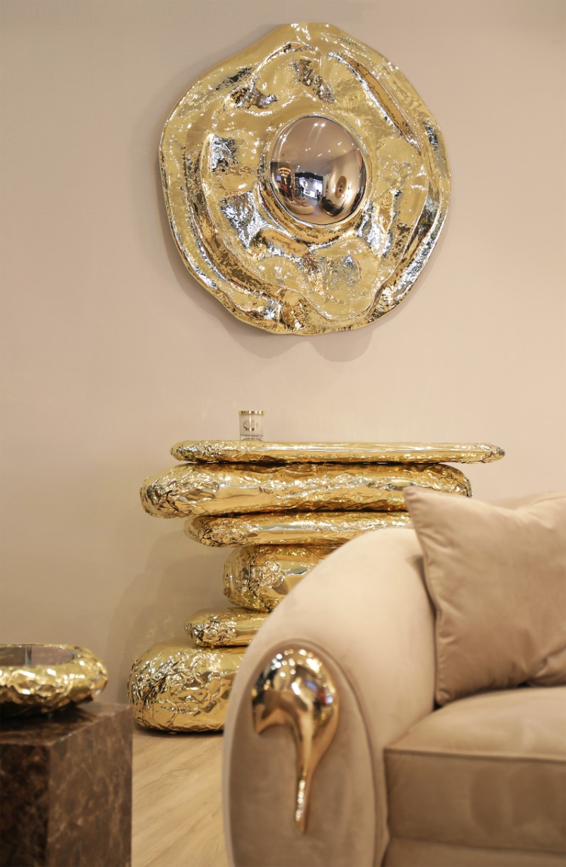 Living room Decorate Your Living Room With Stunning Boca do Lobo's Designs angra mirror