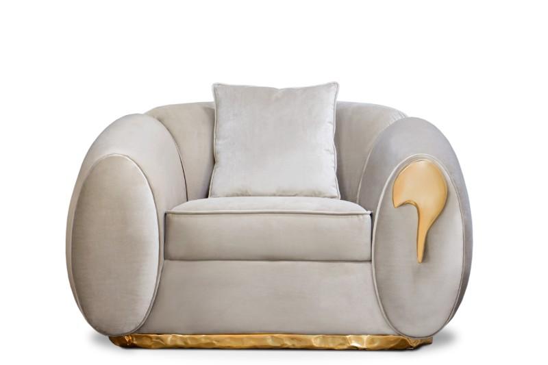 Living room Decorate Your Living Room With Stunning Boca do Lobo's Designs soleil armchair boca do lobo 01 HR