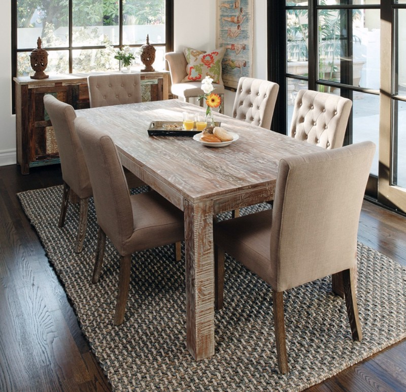 10 Rustic Dining Room Ideas: 10 Amazing Wooden Dining Tables Sets For A Rustic Dining