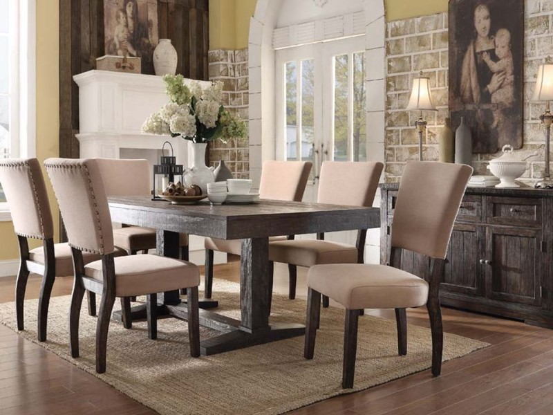 dining tables 10 Amazing Wooden Dining Tables Sets For a Rustic Dining Area 8 10 amazing wooden dining tables for a rustic dining area
