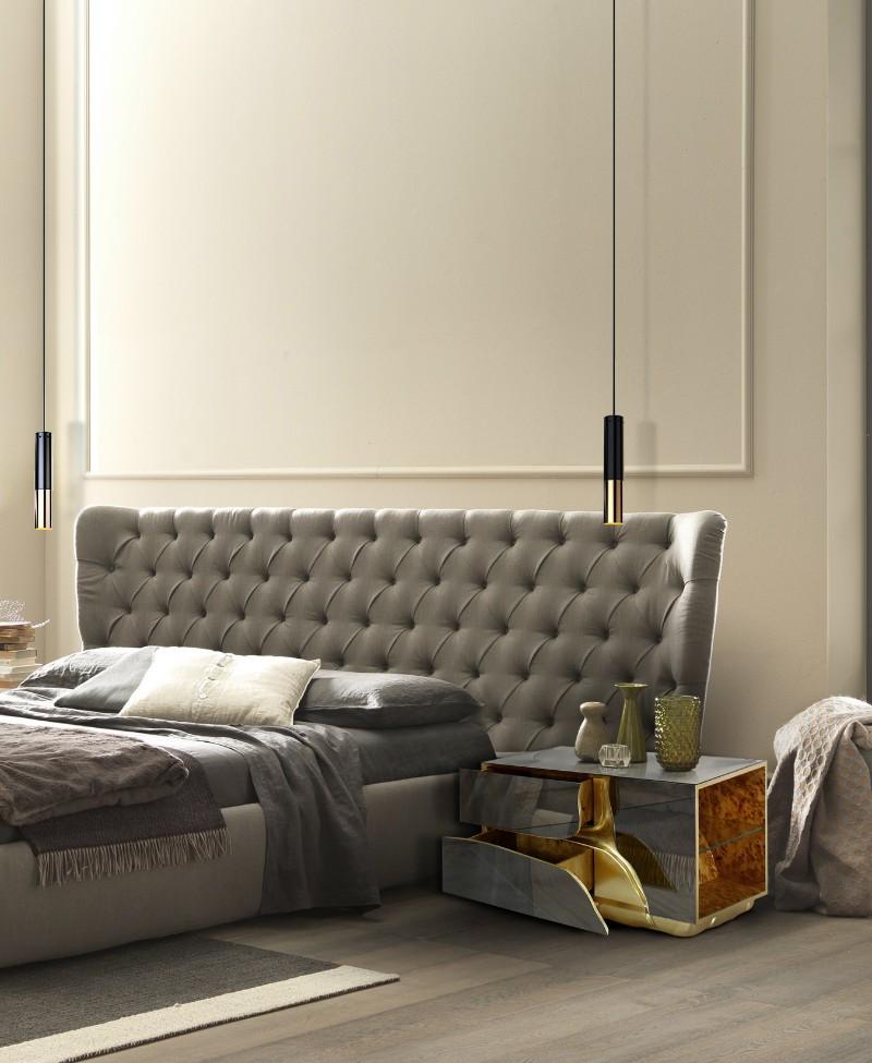 bedroom design ideas Be Amazed With Luxurious Bedroom Design Ideas Lapiaz Nightstand by Boca do Lobo