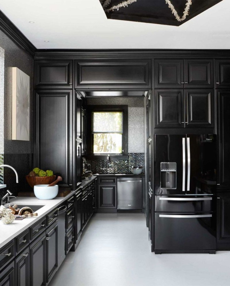 black kitchen accessories 10 black kitchen ideas home decor ideas 1683