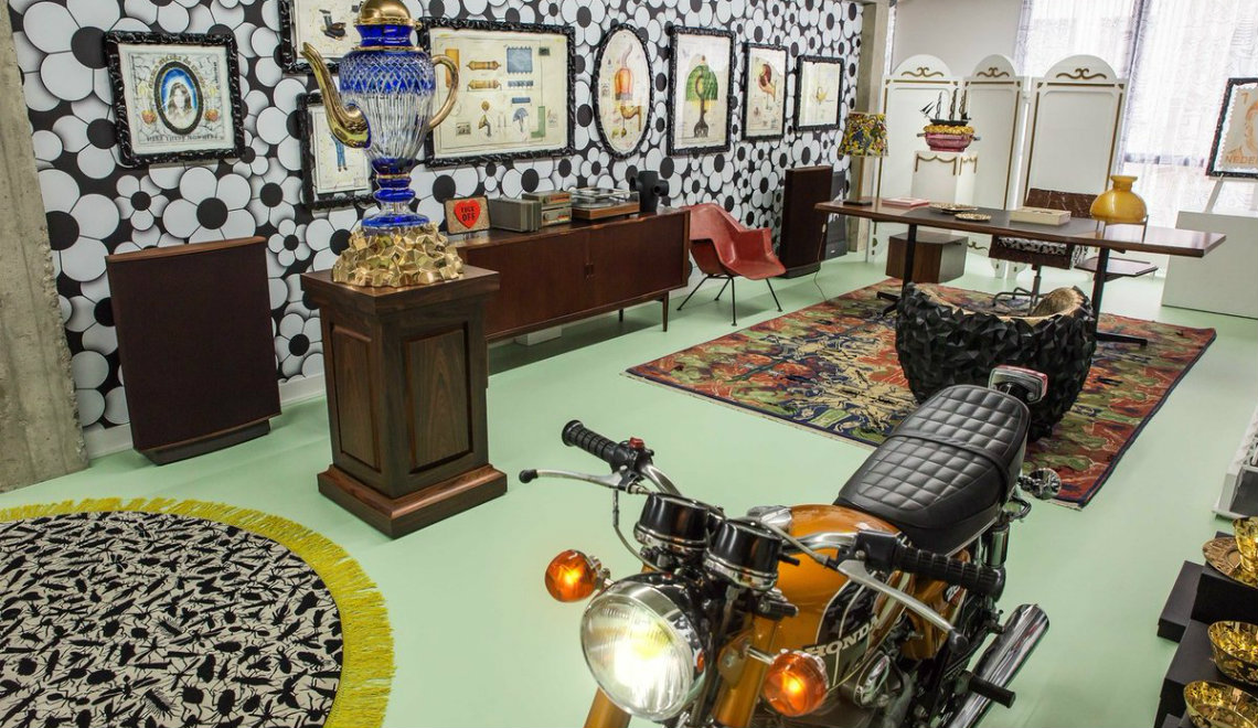 Eclectic Home Decor Ideas: Inside Studio Job's Apartment