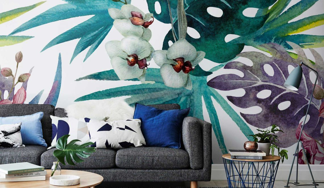 tropical wallpaper 10 Tropical Wallpaper Ideas To Bring Summer Inside Your Home 10 Tropical Wallpaper Ideas To Bring Summer Inside Your Home 1140x660