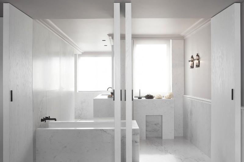 home decor ideas, monochromatic, minimalism, minimalist art, interior design ideas, designer, monochromatic color scheme, monochromatic harmony monochromatic Parisian Apartment Enhances Prestige Through Monochromatic Minimalism HDI minimalism 5