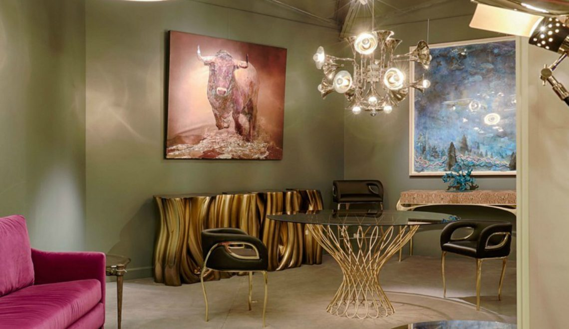 console The Imposing Presence of the Monochrome Gold Console Monochrome Gold Boca do Lobo featured 1140x659