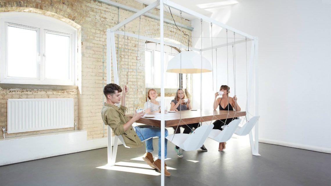 Duffy London's Amazing Swing Table