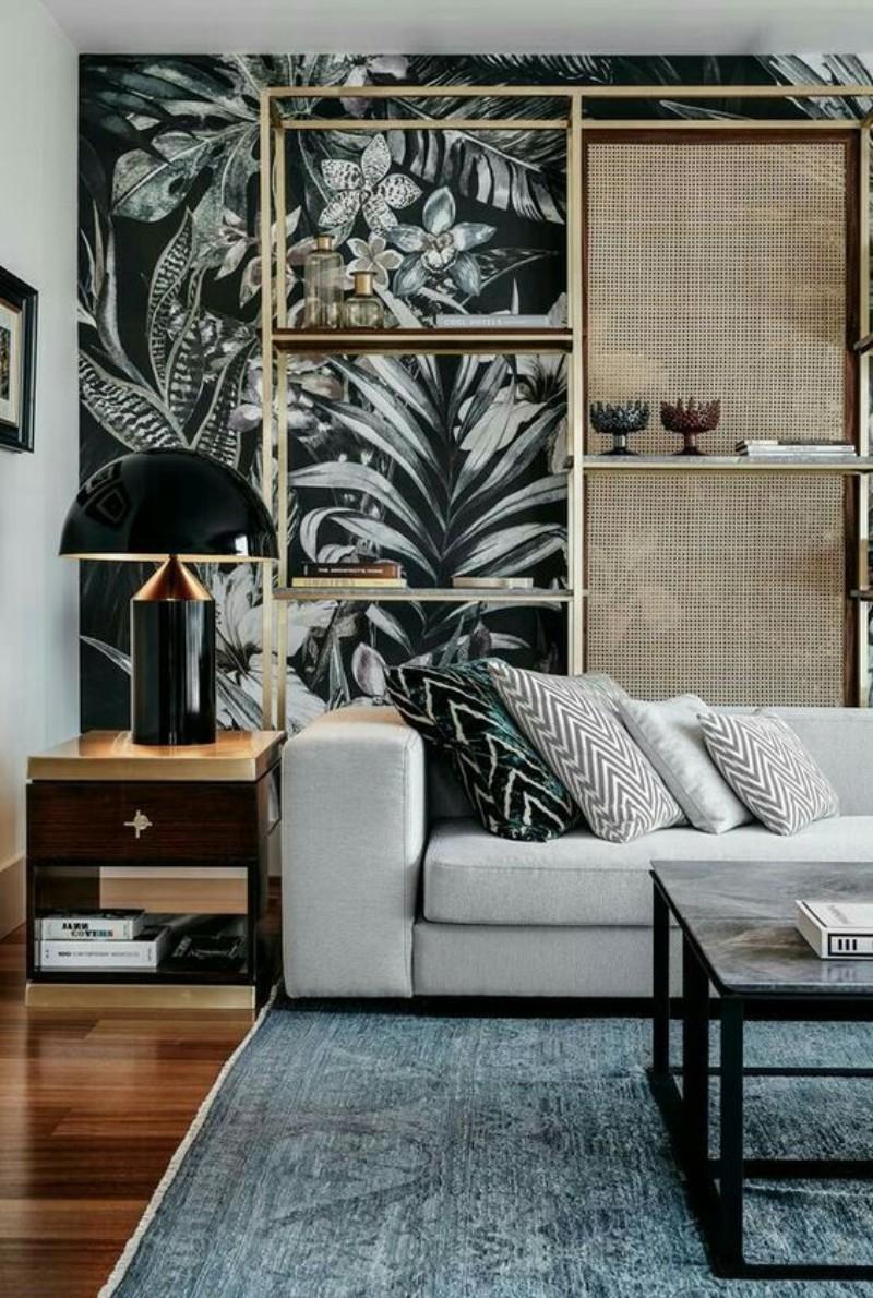 home décor ideas, luxury design, contemporary furniture, wallpaper, design ideas, modern design, wall decoration, wallpaper ideas wallpaper ideas Modern Wallpaper Ideas For Your Living Room floral