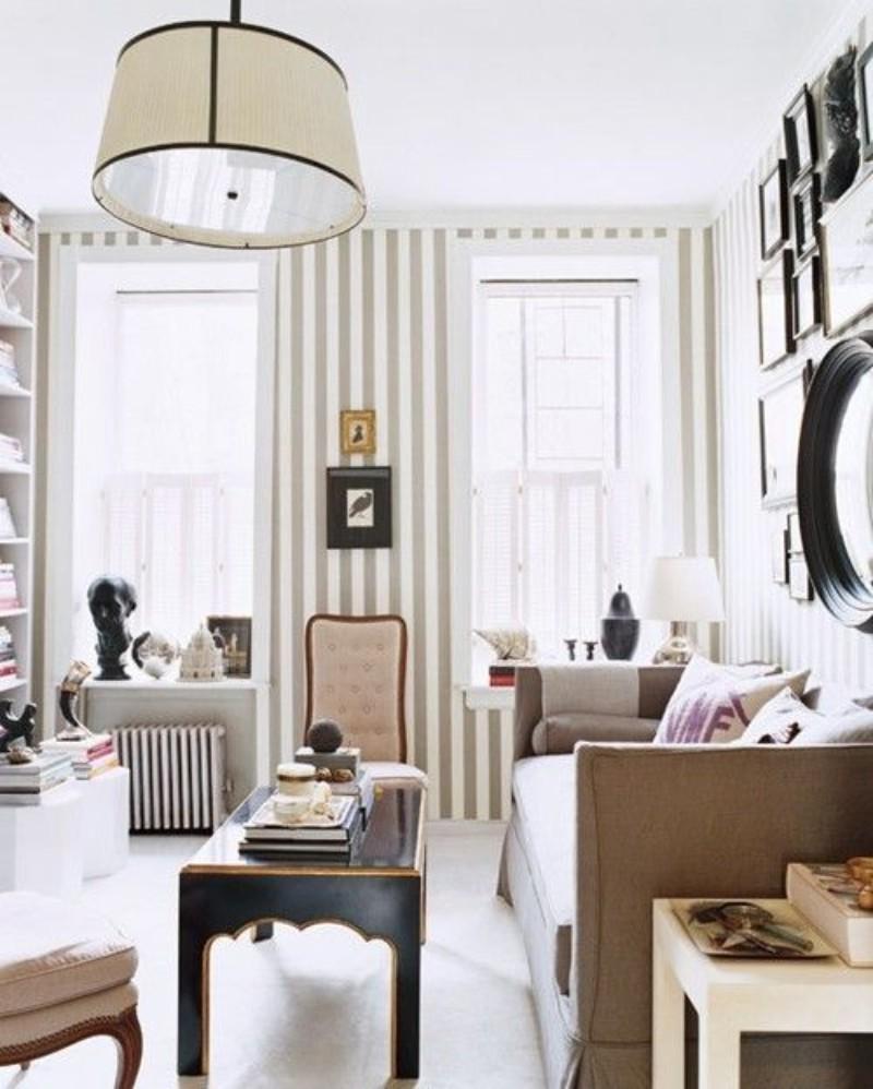 home décor ideas, luxury design, contemporary furniture, wallpaper, design ideas, modern design, wall decoration, wallpaper ideas wallpaper ideas Modern Wallpaper Ideas For Your Living Room stripped