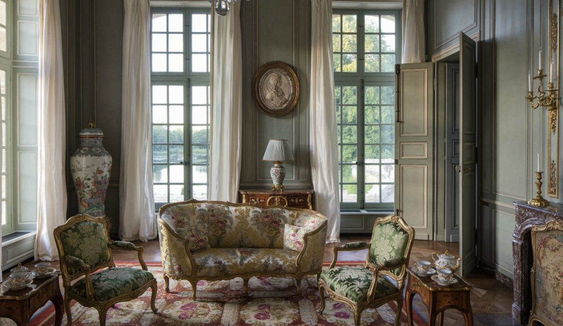 interior design Château de Villette: The Magnificence of French Interior Design Ch  teau de Villette The Magnificence of French Interior Design featured 1140x660