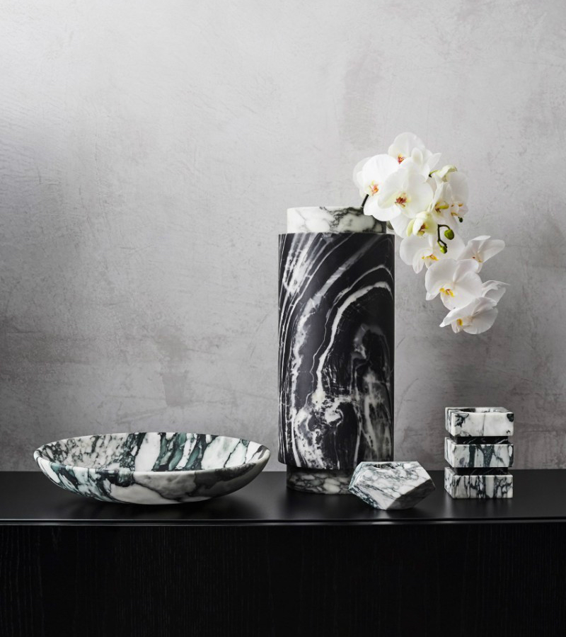 Unique Home Decor Accessories From Marble Shell Brass By Greg Natale Home Decor Ideas