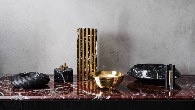 home décor Unique Home Décor Accessories From Marble, Shell, Brass by Greg Natale greg natale accessories BL 5