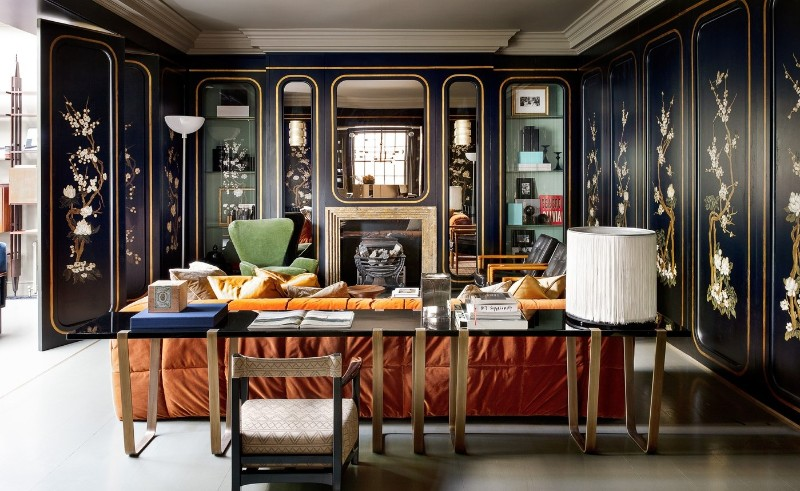 Fashion Stars Dean and Dan Caten's Townhouse dimore studio Fashion Stars Dean and Dan Caten's Townhouse by Dimore Studio Dimore Studio Designed Fashion Stars Dean and Dan Caten   s Townhouse