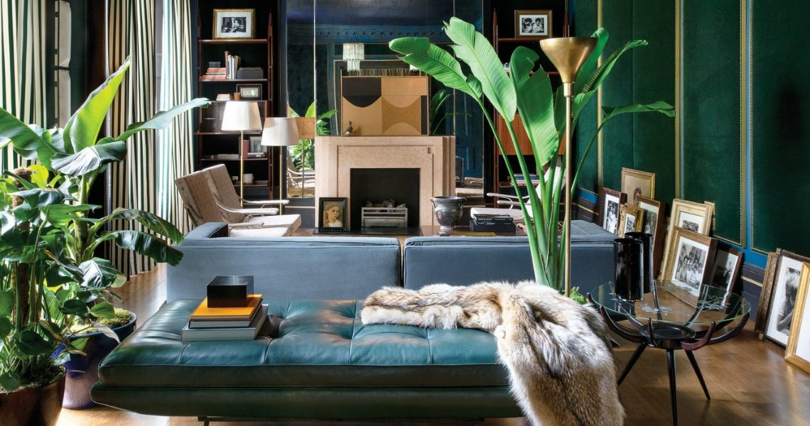 dimore studio Dimore Studio Designed Fashion Stars Dean and Dan Caten's Townhouse feature 1 1140x600