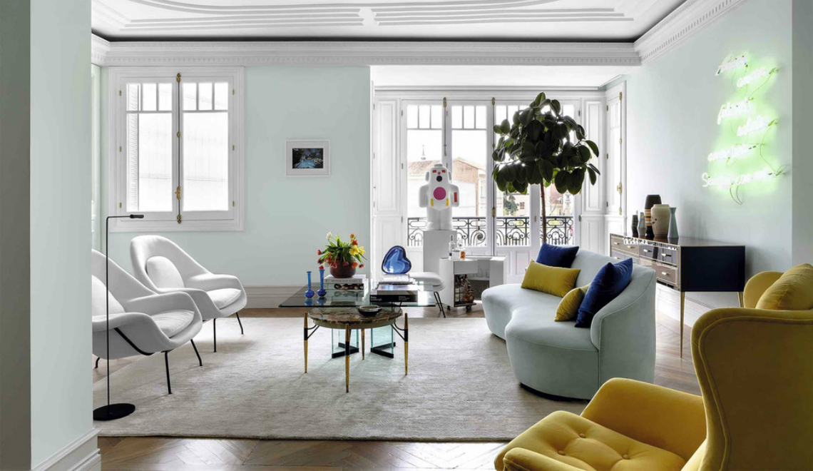 Take a Peek Inside Interior Designer Ricardo de la Torre's Apartment