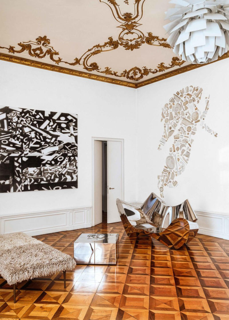 Interior Design in the Heart of Turin Filled with Decorative Art Decorative Art Interior Design in the Heart of Turin Filled with Decorative Art Interior Design in the Heart of Turin 2