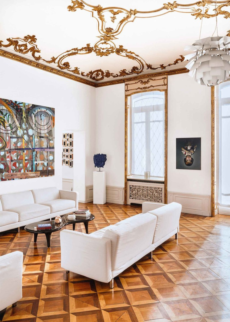 Interior Design in the Heart of Turin Decorative Art Interior Design in the Heart of Turin Filled with Decorative Art Interior Design in the Heart of Turin 4